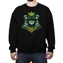 Green Shogun Ranger - Crew Neck Sweatshirt - Crew Neck Sweatshirt - RIPT Apparel