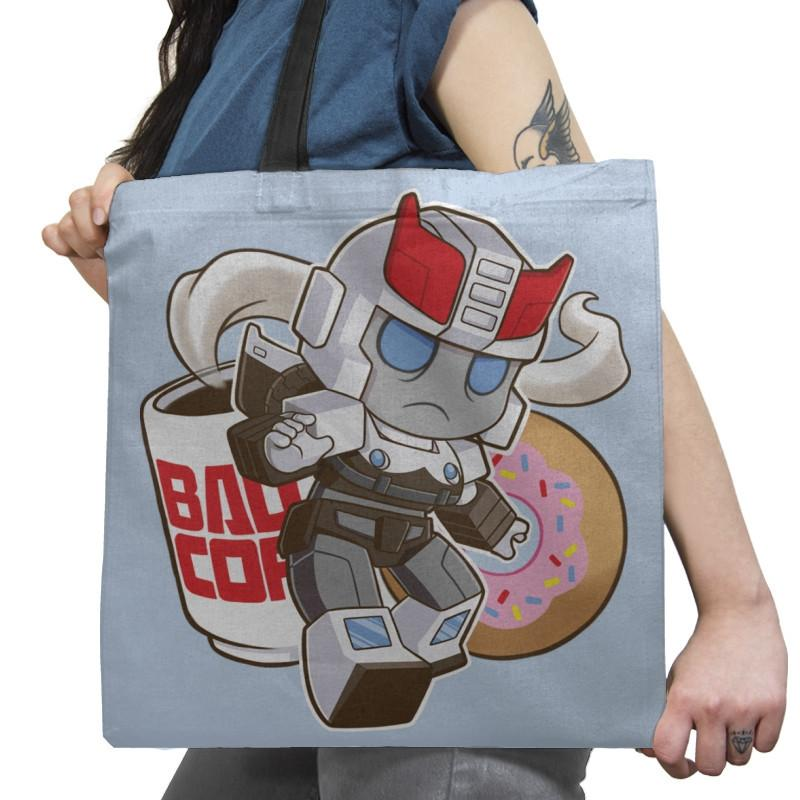 Little Copbot Exclusive - Shirtformers - Tote Bag - Tote Bag - RIPT Apparel
