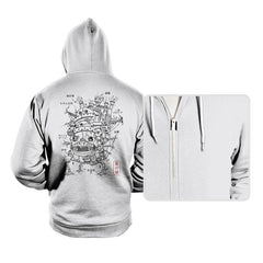 Castle Plan - Hoodies - Hoodies - RIPT Apparel