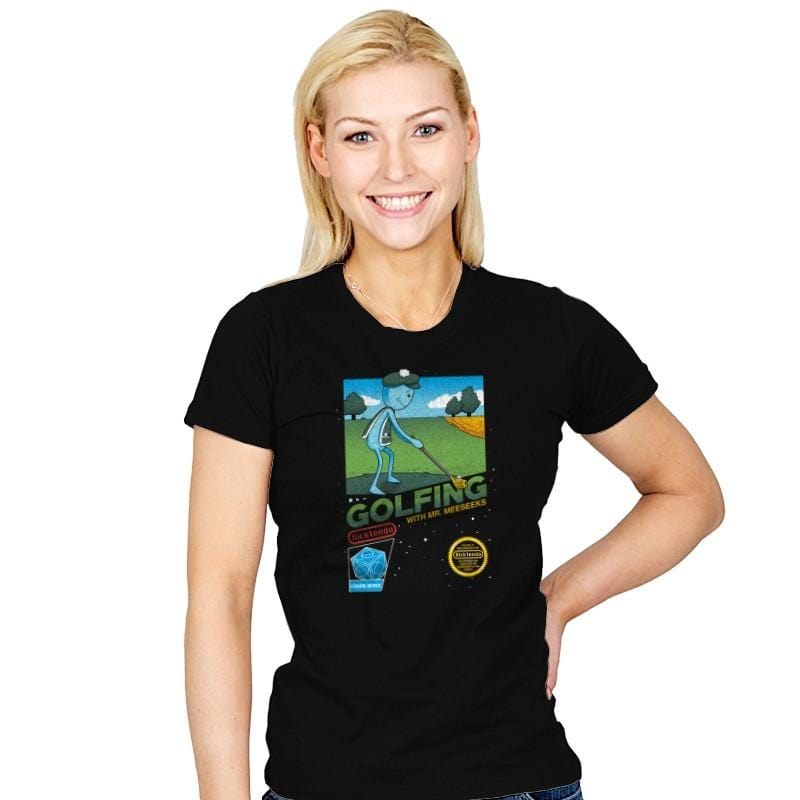 Golfing with Mr. Meeseeks Exclusive - Womens - T-Shirts - RIPT Apparel