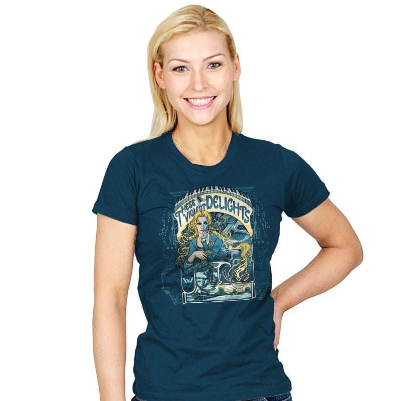 These Violent Delights - Womens - T-Shirts - RIPT Apparel