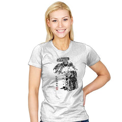 Major vs Tank sumi-e - Womens - T-Shirts - RIPT Apparel