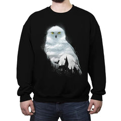 Magical Winter Night - Crew Neck Sweatshirt - Crew Neck Sweatshirt - RIPT Apparel
