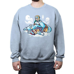 Super Hoth Brothers - Crew Neck Sweatshirt - Crew Neck Sweatshirt - RIPT Apparel