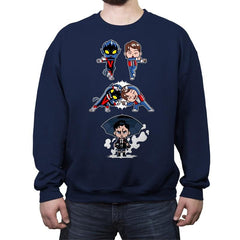 Fusion Number 5 - Crew Neck Sweatshirt - Crew Neck Sweatshirt - RIPT Apparel