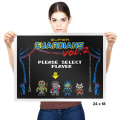Super Guardians 2 - Prints - Posters - RIPT Apparel