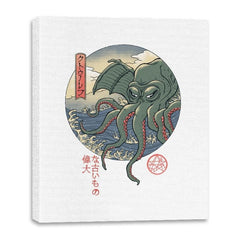 Cthulhu Ukiyo-e - Canvas Wraps - Canvas Wraps - RIPT Apparel