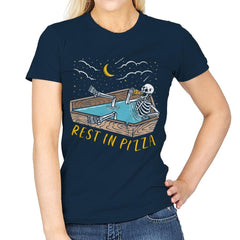 Rest In Pizza - Womens - T-Shirts - RIPT Apparel