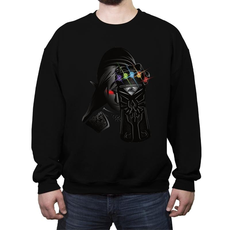 The Infinity Rupees - Crew Neck Sweatshirt - Crew Neck Sweatshirt - RIPT Apparel