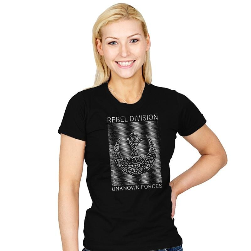 Rebel Division - Womens - T-Shirts - RIPT Apparel