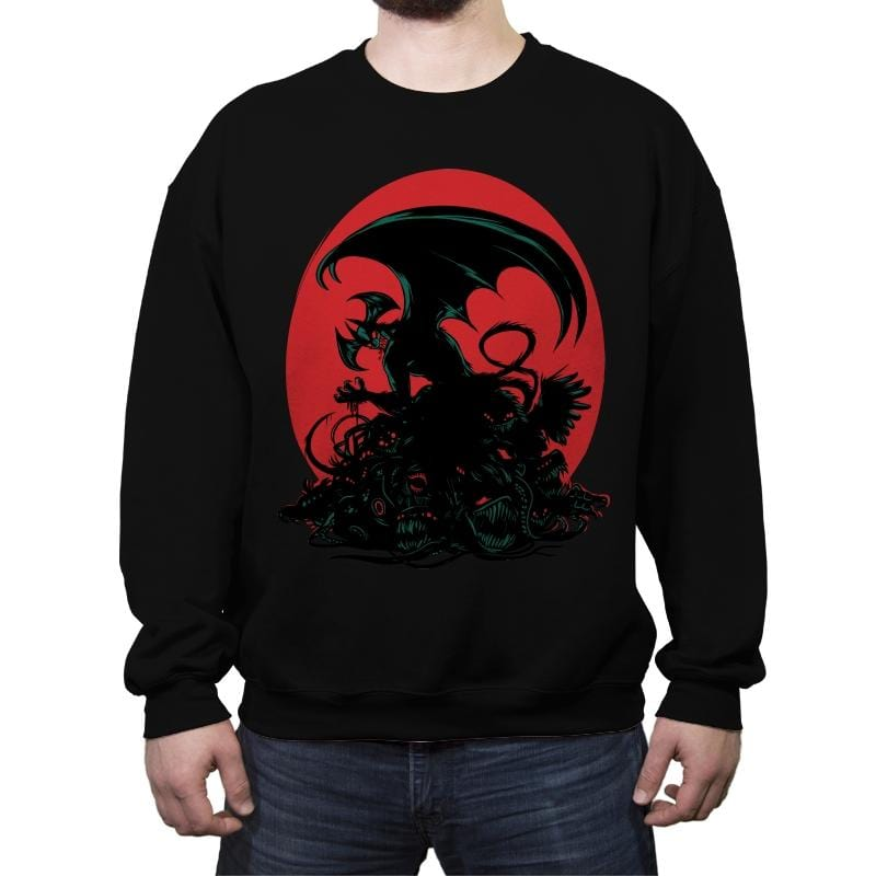 Crydevil - Crew Neck Sweatshirt - Crew Neck Sweatshirt - RIPT Apparel
