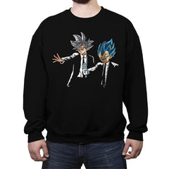 Suoer Fiction - Crew Neck Sweatshirt - Crew Neck Sweatshirt - RIPT Apparel