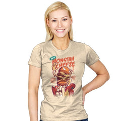 Monstah Cheeze - Womens - T-Shirts - RIPT Apparel