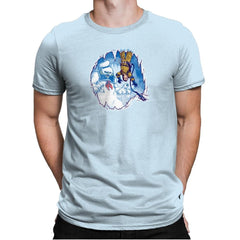 The Wampuft Marshmallow Man Exclusive - Mens Premium - T-Shirts - RIPT Apparel