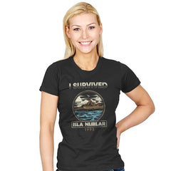 Isla Nublar, 1993 - Womens - T-Shirts - RIPT Apparel