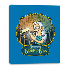 Beauty and the Bean - Canvas Wraps - Canvas Wraps - RIPT Apparel