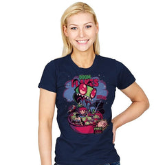 Doom Flakes - Womens - T-Shirts - RIPT Apparel