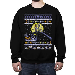 Romantic Nightmare - Crew Neck Sweatshirt - Crew Neck Sweatshirt - RIPT Apparel