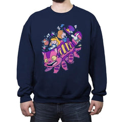 Cheshire Bus - Crew Neck Sweatshirt - Crew Neck Sweatshirt - RIPT Apparel