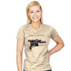 Pew Fighters - Womens - T-Shirts - RIPT Apparel
