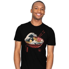 Great Ramen Wave - Mens - T-Shirts - RIPT Apparel