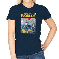 Save the World! Exclusive - Womens - T-Shirts - RIPT Apparel