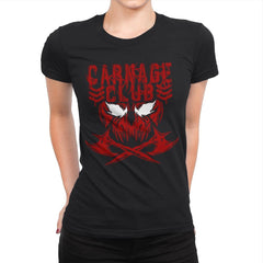 CARNAGE CLUB Exclusive - Womens Premium - T-Shirts - RIPT Apparel