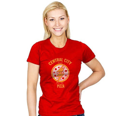 Central City Pizza - Womens - T-Shirts - RIPT Apparel