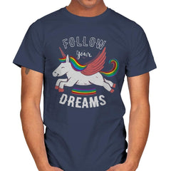 Forever Follow Your Dreams - Mens - T-Shirts - RIPT Apparel