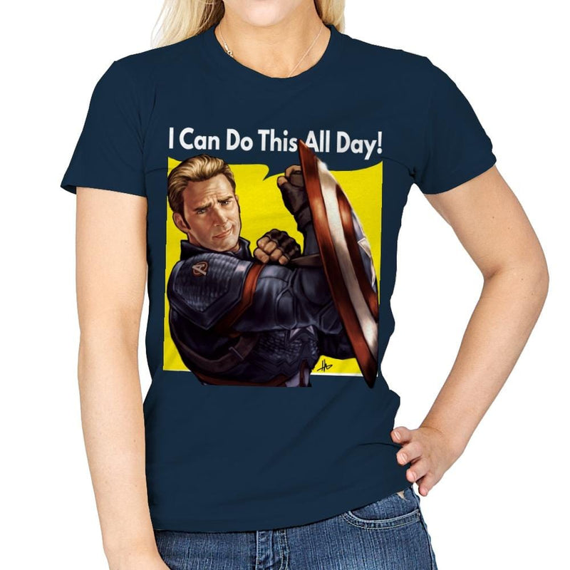 Cap Can Do It! - Womens - T-Shirts - RIPT Apparel