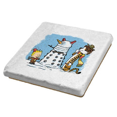 The Snow Dalek - Coasters - Coasters - RIPT Apparel