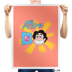 Mr. Crystal Exclusive - Prints - Posters - RIPT Apparel
