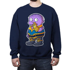 Thanolph - Crew Neck Sweatshirt - Crew Neck Sweatshirt - RIPT Apparel