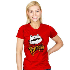Prrrrngles - Womens - T-Shirts - RIPT Apparel