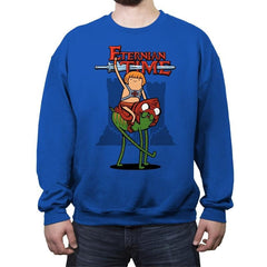 Eternian Time - Crew Neck Sweatshirt - Crew Neck Sweatshirt - RIPT Apparel