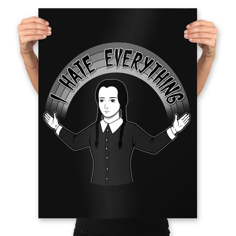 As long as we Hate Everything - Prints - Posters - RIPT Apparel