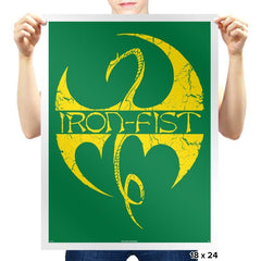 Iron Clan - Prints - Posters - RIPT Apparel