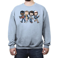 Strange BFFs - Crew Neck Sweatshirt - Crew Neck Sweatshirt - RIPT Apparel