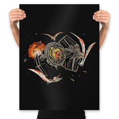 Tie-Rex and the Rebeldactyls - Prints - Posters - RIPT Apparel