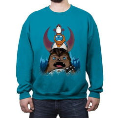 Chewtoro & Friends - Crew Neck Sweatshirt - Crew Neck Sweatshirt - RIPT Apparel
