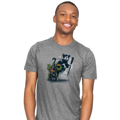 Teenage Mutant Street Art - Mens - T-Shirts - RIPT Apparel