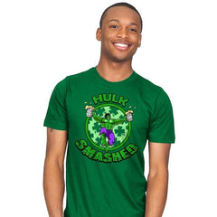 Hulk Smashed Exclusive - St Paddys Day - Mens - T-Shirts - RIPT Apparel