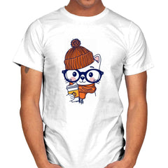 Trendy Cat - Mens - T-Shirts - RIPT Apparel