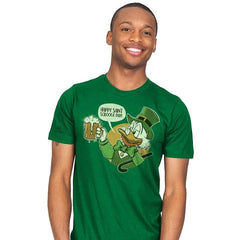 Happy Scrooge Day - St Paddys Day - Mens - T-Shirts - RIPT Apparel