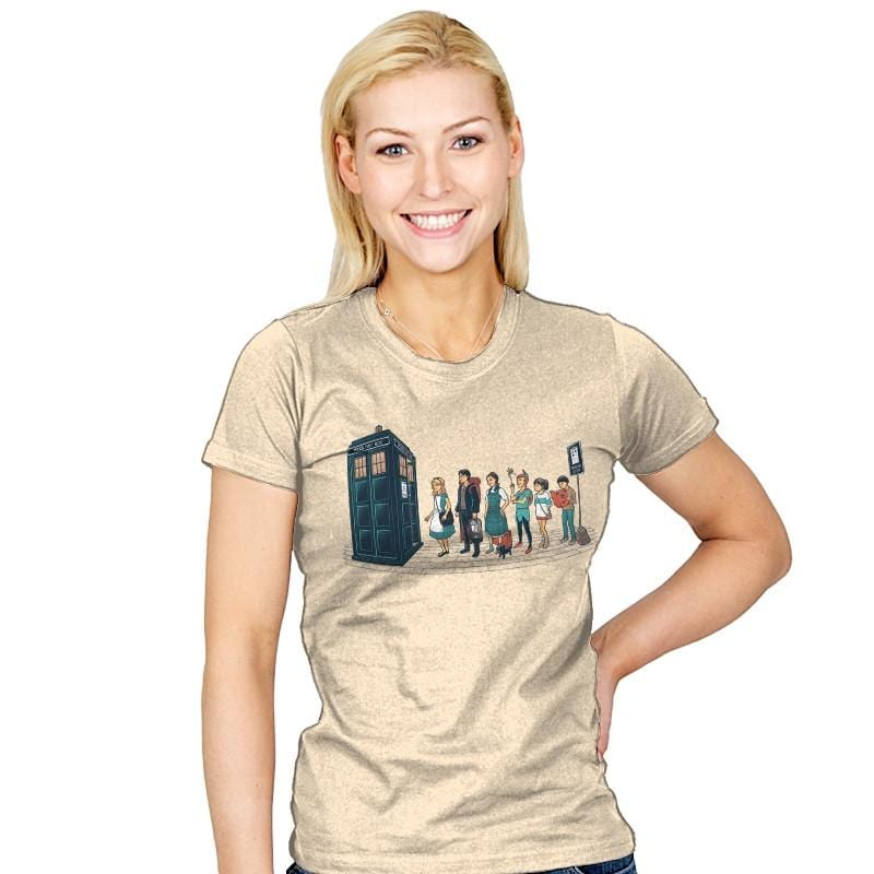 The Doctor's Express - Womens - T-Shirts - RIPT Apparel