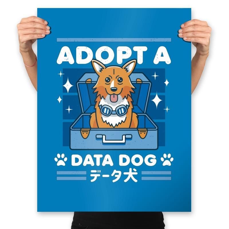 Adopt a Data Dog - Prints - Posters - RIPT Apparel