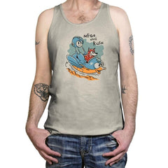 Mega and Rush - Tanktop - Tanktop - RIPT Apparel