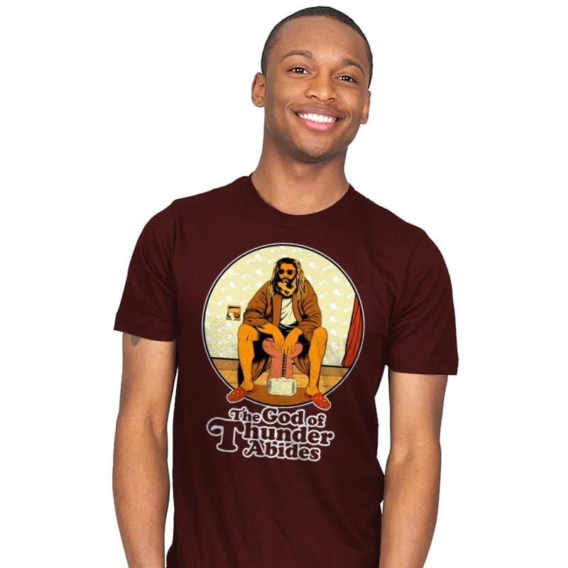 The God of Thunder Abides - Anytime - Mens - T-Shirts - RIPT Apparel
