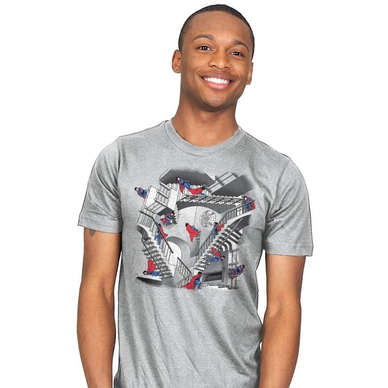Strange Stairs - Mens - T-Shirts - RIPT Apparel