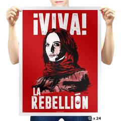 Viva La Rebellion - Prints - Posters - RIPT Apparel